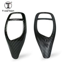 Genuine Carbon Fiber car shift knob cover for BMW X5