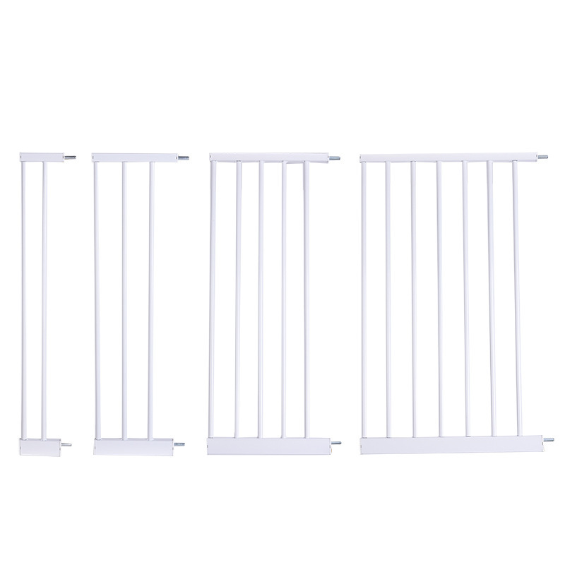 Factory supply high quality adjustable retractable high quality pet dog safety gate for doors Extension fittings