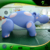 Fat and Strong Shape Inflatable Spot Hippo Inflatable Cute Water Animal