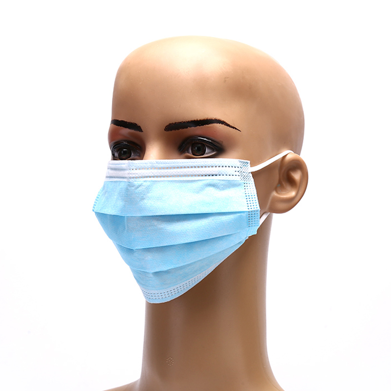 CE Earloop Medical 3 Ply Disposable Dental Mouth Mask 3ply Disposable Medical FaF Mask