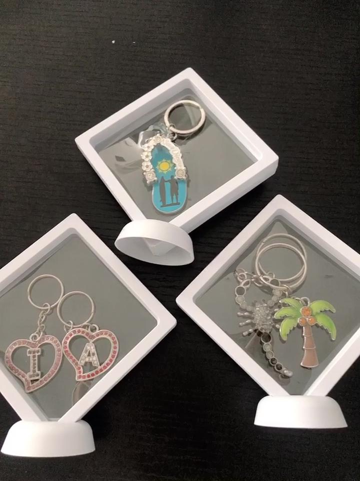 Custom Logo Unisex Key Chain Supplies Wholesale Luxury Personalized Couple Key Chain For Ladies