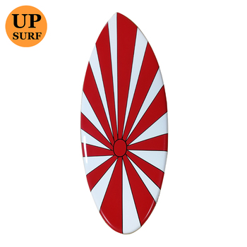 Customized Fiberglass skimboard in surfing shallow water surfboard fashion skimboard