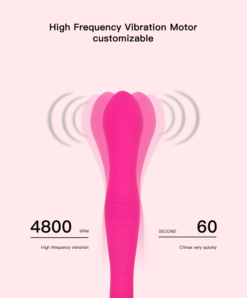 New Design Lesbian Sex Toys Waterproof Full Silicone Vagina Stimulation G Spot Vibrator