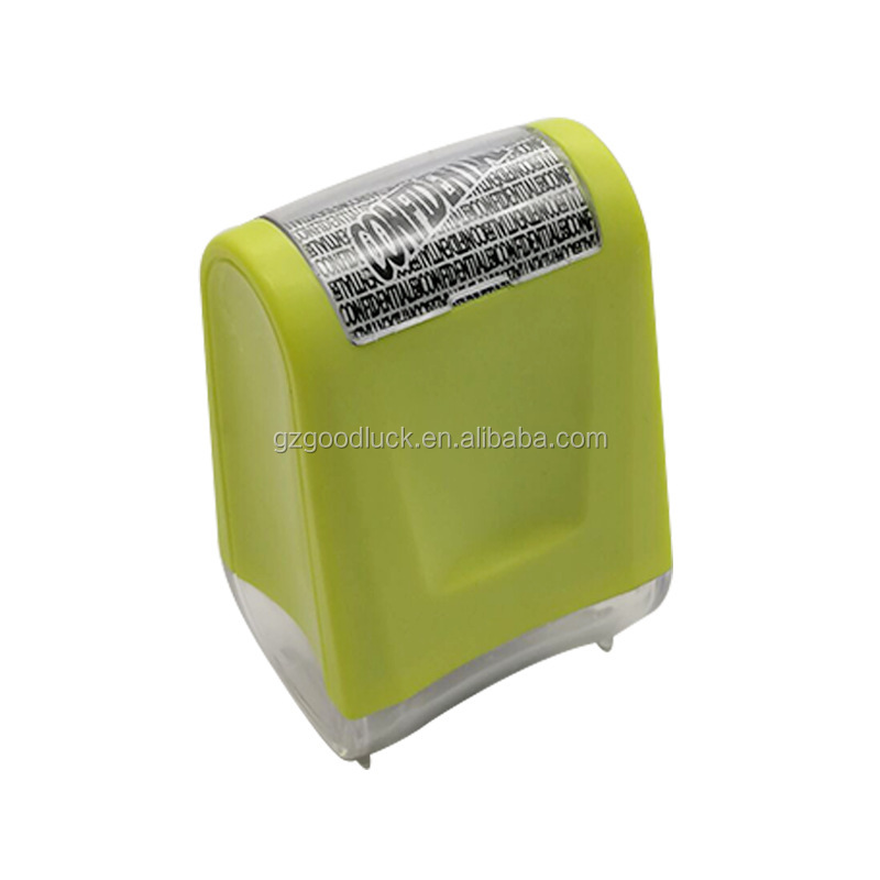Identity Theft Protection Roller Stamp Guard Your ID Personalized Pattern Informations