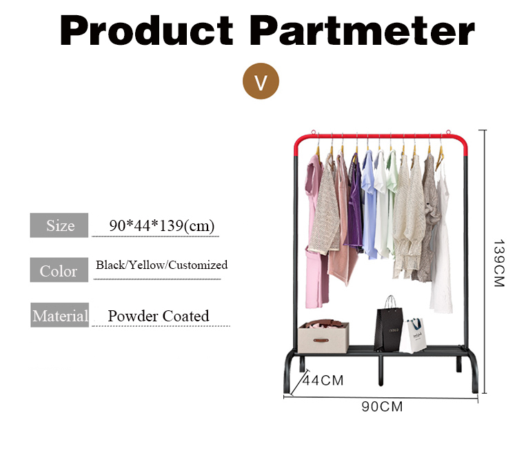 Suoernuo New Product And Support Customized Clothes Hanger Stand Rack Big Size Clothes Stand Hanger Coat Rack