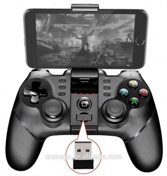 Ipega Pg-9076 Rechargeable 2.4G Wireless Bluetooth Gamepad Game Controller For Ps3 / Windows Android Iphone Ipad Vr