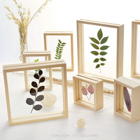 High Quality 10x10 Custom 3D DIY Plant Specimen Shadow Box Frame Display Case Floating Frame for Souvenir