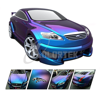 KOLORTEK Special Effect Pigment Powder Paint Automotive Coating 2-4 Colorshift Chameleon Car Paint