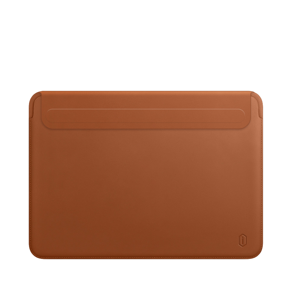 WiWU Flip PU leather Protective Case Cover for Mac book Green Brown 16'' Laptop Bag Sleeve