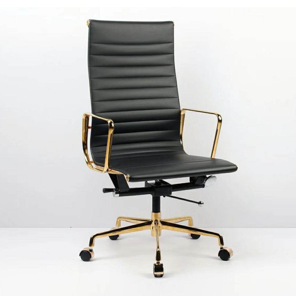 מקצועי רוטרי אמיתי עיצוב רוז זהב מסגרת משרד כיסאות slim מעצב משרד כיסא משימה