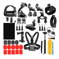 Camera Sport Accessories Set for GoPro Hero 8 7 6 5 Black 4 Session Xiaomi Yi 4K Sj4000 Chest Head Strap Mount Kits
