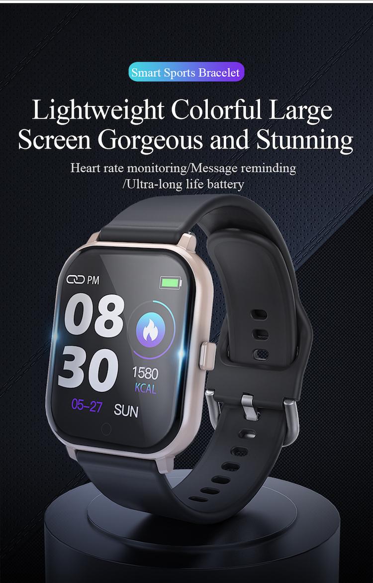 2020 Intelligent smart watches T55 waterproof sports bracelet for phone smartwatch heart rate monitor