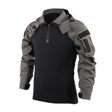Тактическая рубашка BACRAFT, армейская униформа, Уличное оборудование, версия SP2, дымчато-зеленый, XXL(Китай)