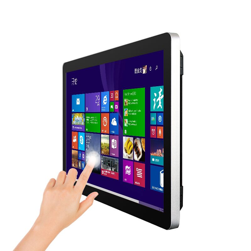 New products vesa wall mount 21.5, 22,32 inch HD waterproof touch screen <strong>computer</strong> all in one pc
