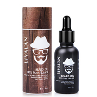 Professional Manufacturing Organic Natural Growth Beard Oil