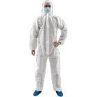 non woven coverall hooded suit disposable coveralls Chemical Microporous