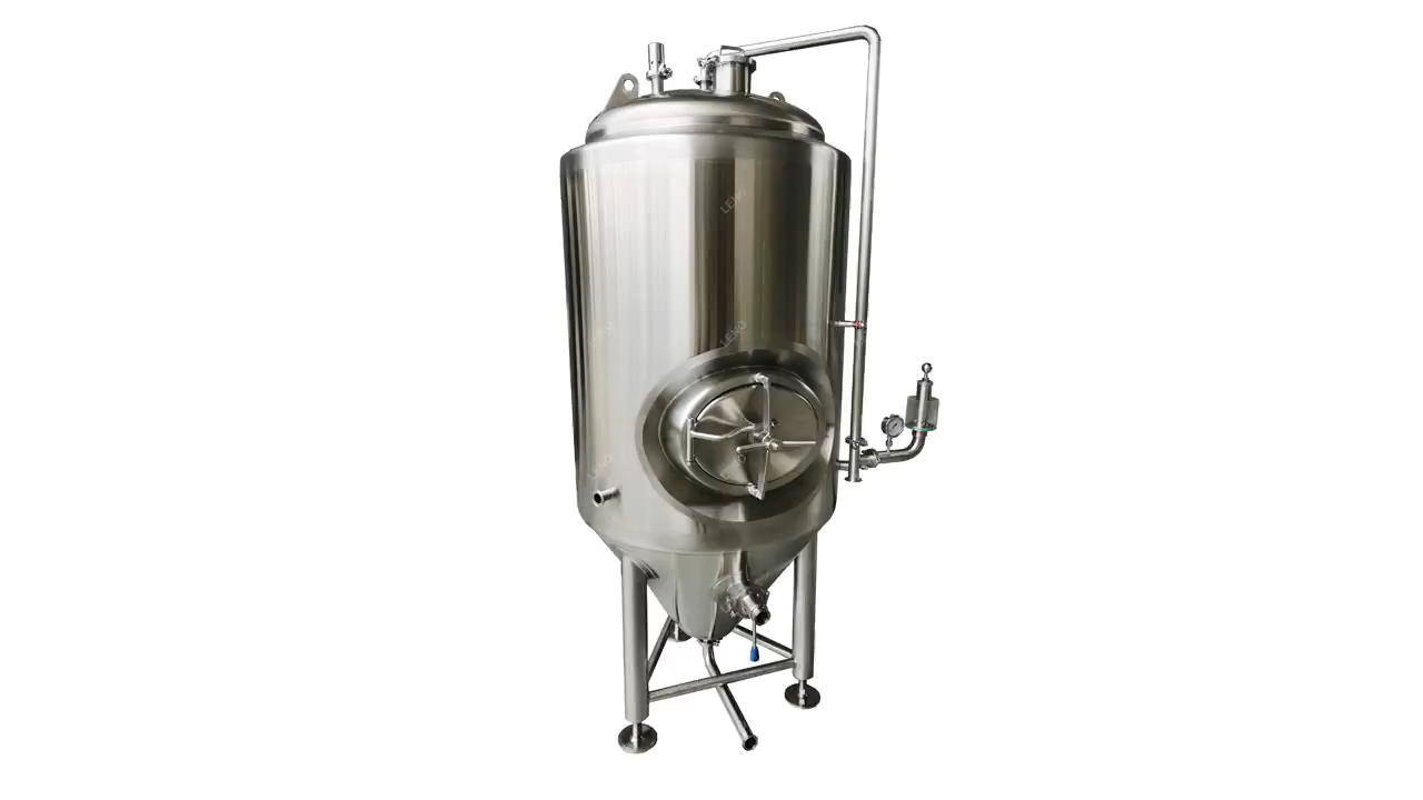Stainessl steel fermenter brewery equipment brewing jacketed beer fermentation tank