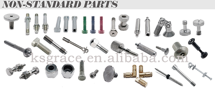 Stainless Steel Knurled Screw DIN912 Hex Socket Head Screw With Knurling