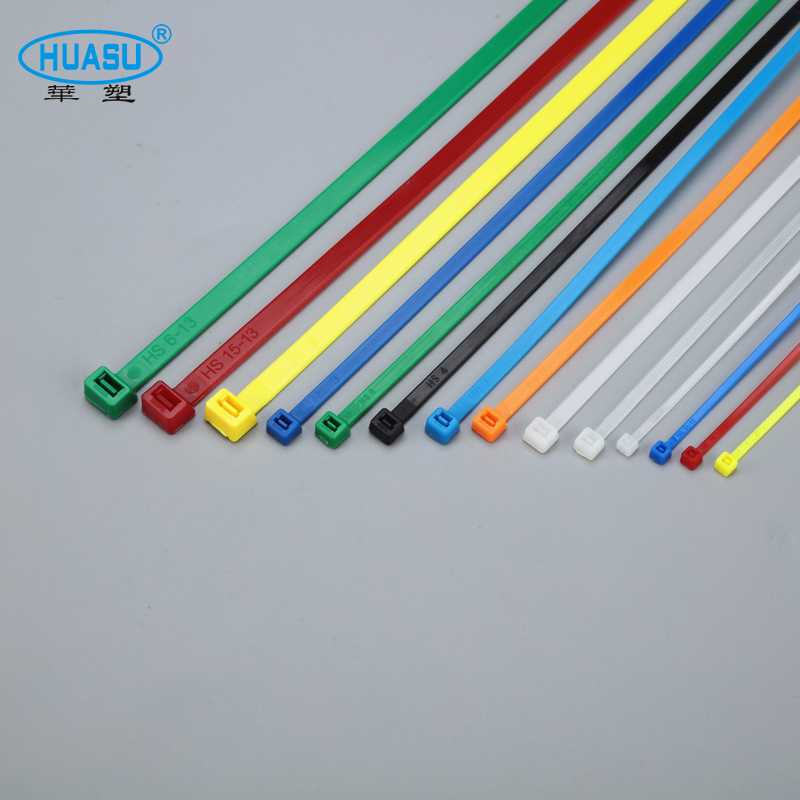 Custom Printed Size 300*4.8mm Self Locking Plastic Nylon Cable Tie Zip tie