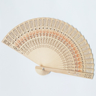 Wood Hand Fan Gift I Am Your Fans 2020 Custom Chinese Solid Color Printed Logo Foldable Colored Wooden
