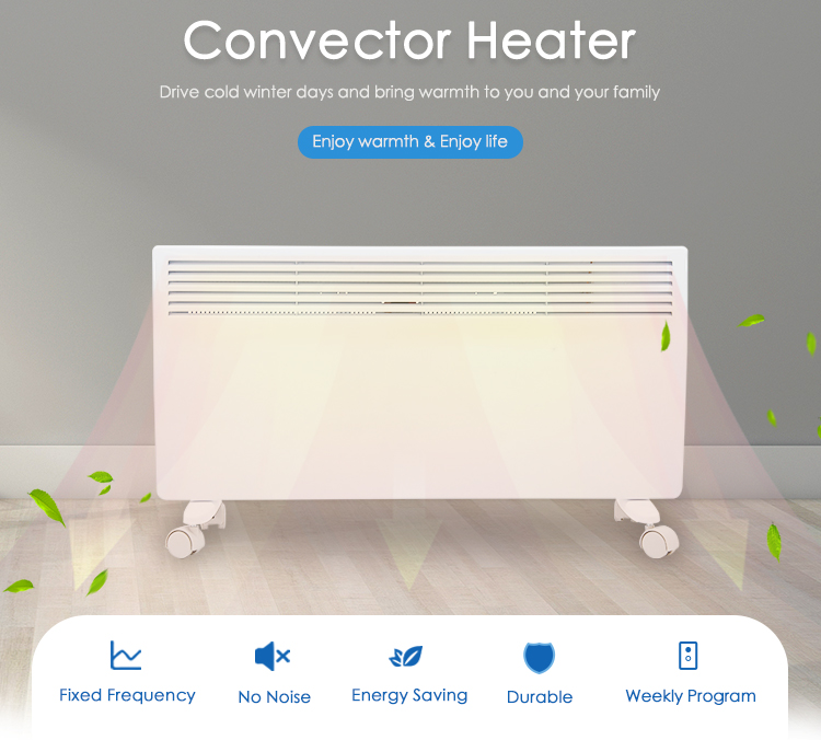 Wholesale price home decorative LED electronic digital screen electric space room panel heater