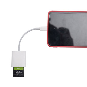 Drop-shipping tablet pc smart sd card reader with video output for android samsung multiple sd card adapter USB-C to PC