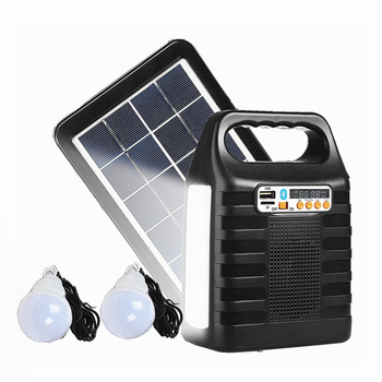 IS-1288S Portable Solar power system energy lamp chargers Home energy Panel kit system led solar lamps