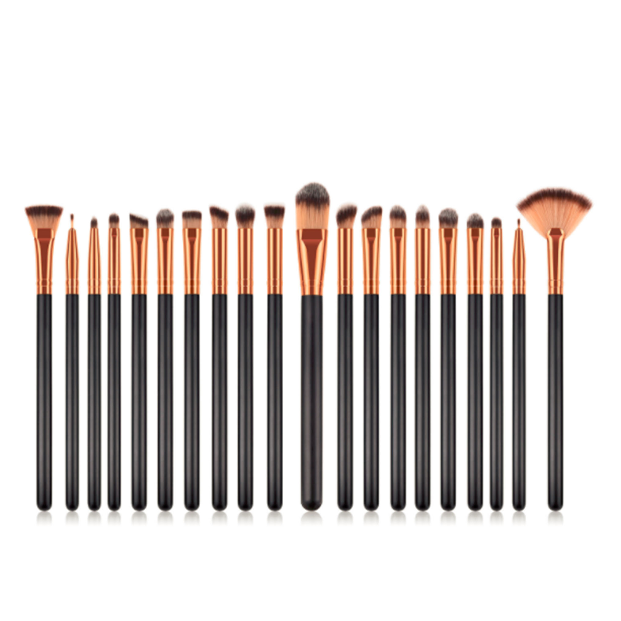 20pcs eye makeup <strong>brushes</strong> sets black gold <strong>best</strong> selling products 2019 in usa maquillaje