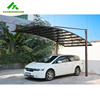 Top-quality carports garages with polycarbonate roof and all-aluminium frame HX611