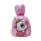 2020 wholesale traveling led sequins led light backpack girl cute light backpack fashion women led lamp bag