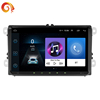 2din 9inch LCD Touch screen car radio player auto audio bluetooth multiple Languages support Rear View Camera