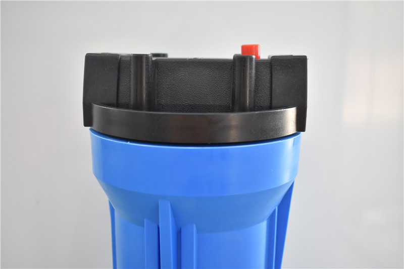 "20"" inch blue water filter housing for water pre treatment"