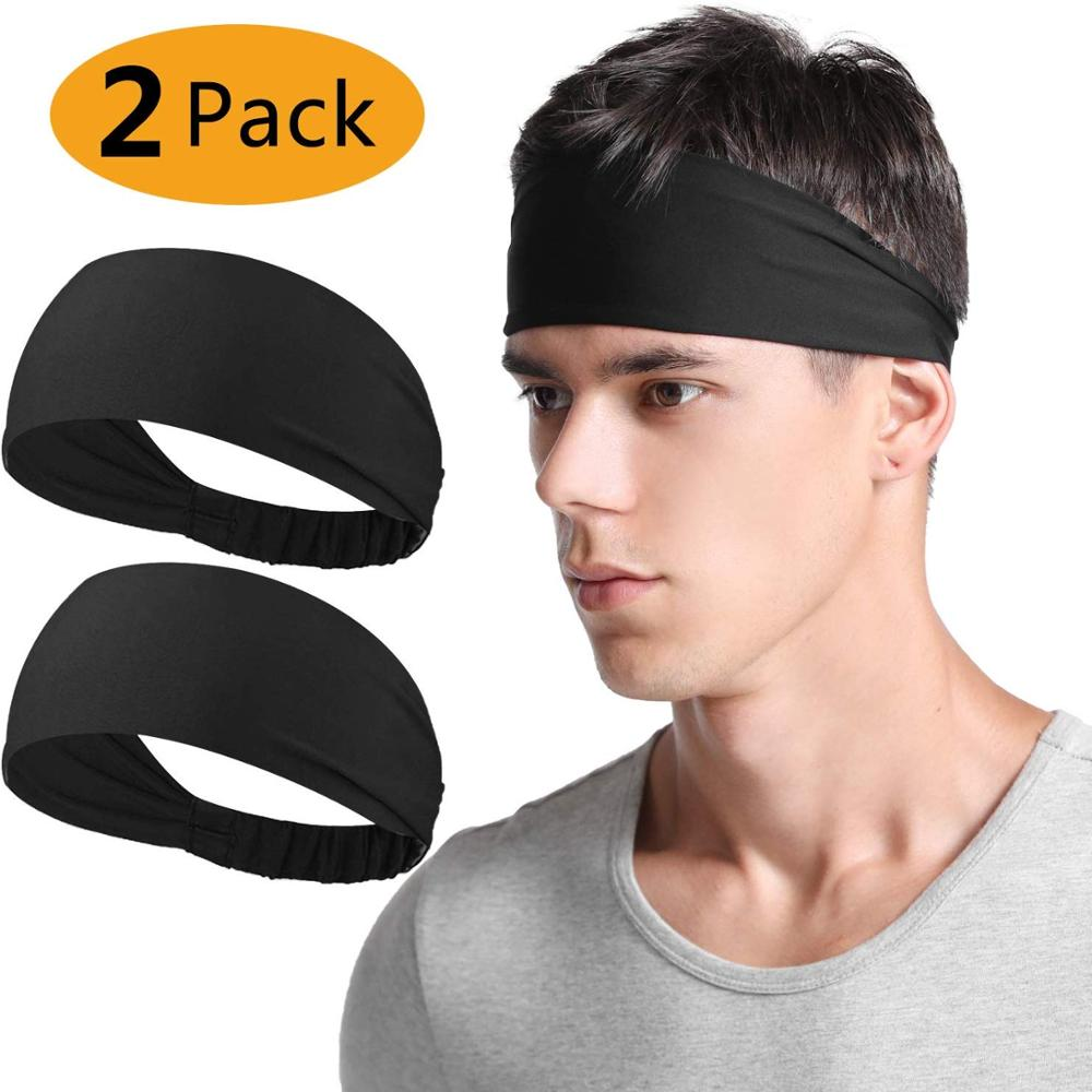 Factory Price Yoga Dri-Fit Head Tie One Size Fits All Custom Logo Seamless Elastic Sport <strong>Headband</strong>