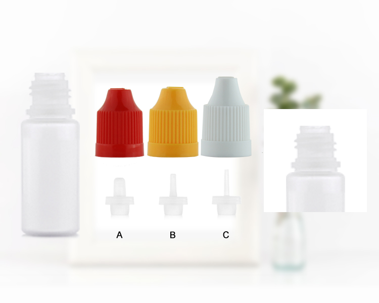 Wholesale various cap plastic ejuice dropper bottles 100ml PE squeeze e liquid container