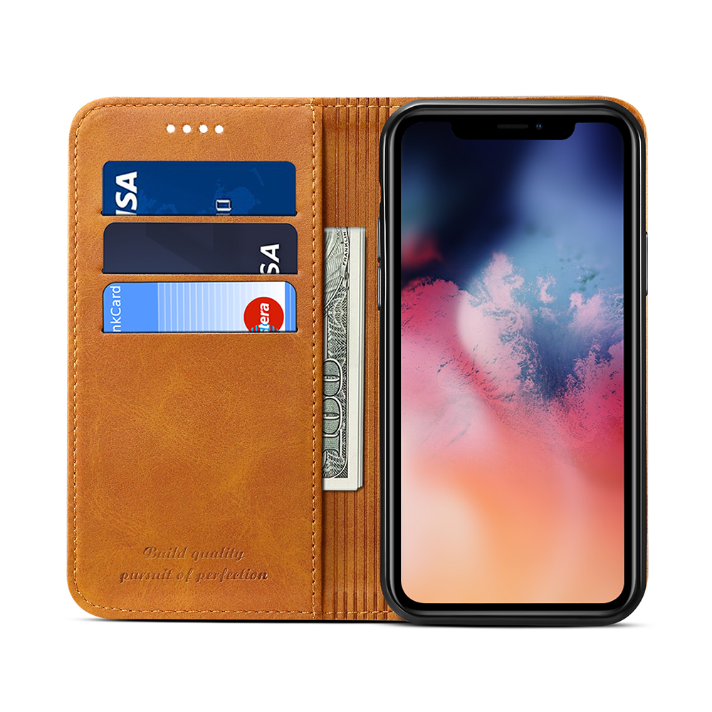 For Iphone 11 Real Leather Cell Phone Case ,high quality PU Leather Mobile Phone Shell For Iphone Case