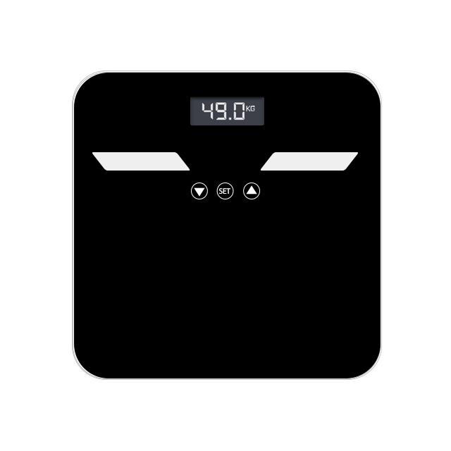 وافق CE رخيصة الثمن البلاستيك دليل لطيف الذكية الجسم الدهون الميكانيكية ميزان حمام وزنها