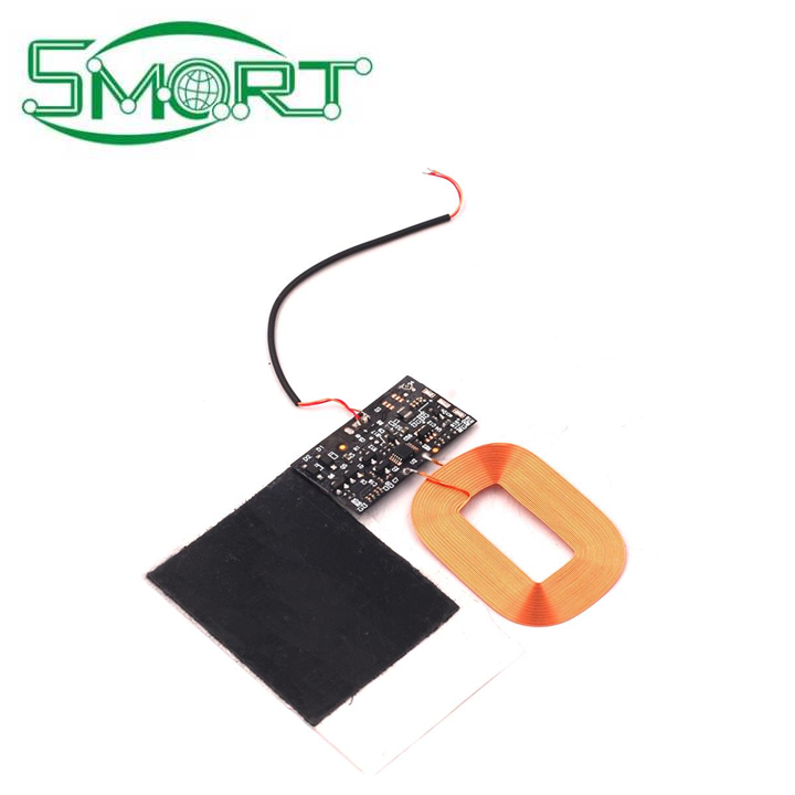 Smart Electronics~DIY Qi Standard Wireless Charging Coil Receiver Module PCB Circuit Board 5V 1A Fast Wireless Charging Module