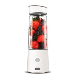 [UPGRADE SAFTY CUT-POWER SWITCH] Rechargeable personal mini size blender electric mixer portable smoothie maker