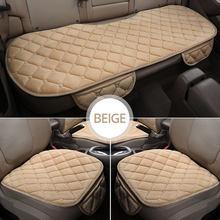 3 шт., зимние теплые чехлы для сидений автомобиля, универсальные мягкие автомобильные подушки для сидений, автомобильные чехлы на стулья, за...(Китай)