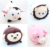Baby soft plush animal toys stuffed babies toys polyester material