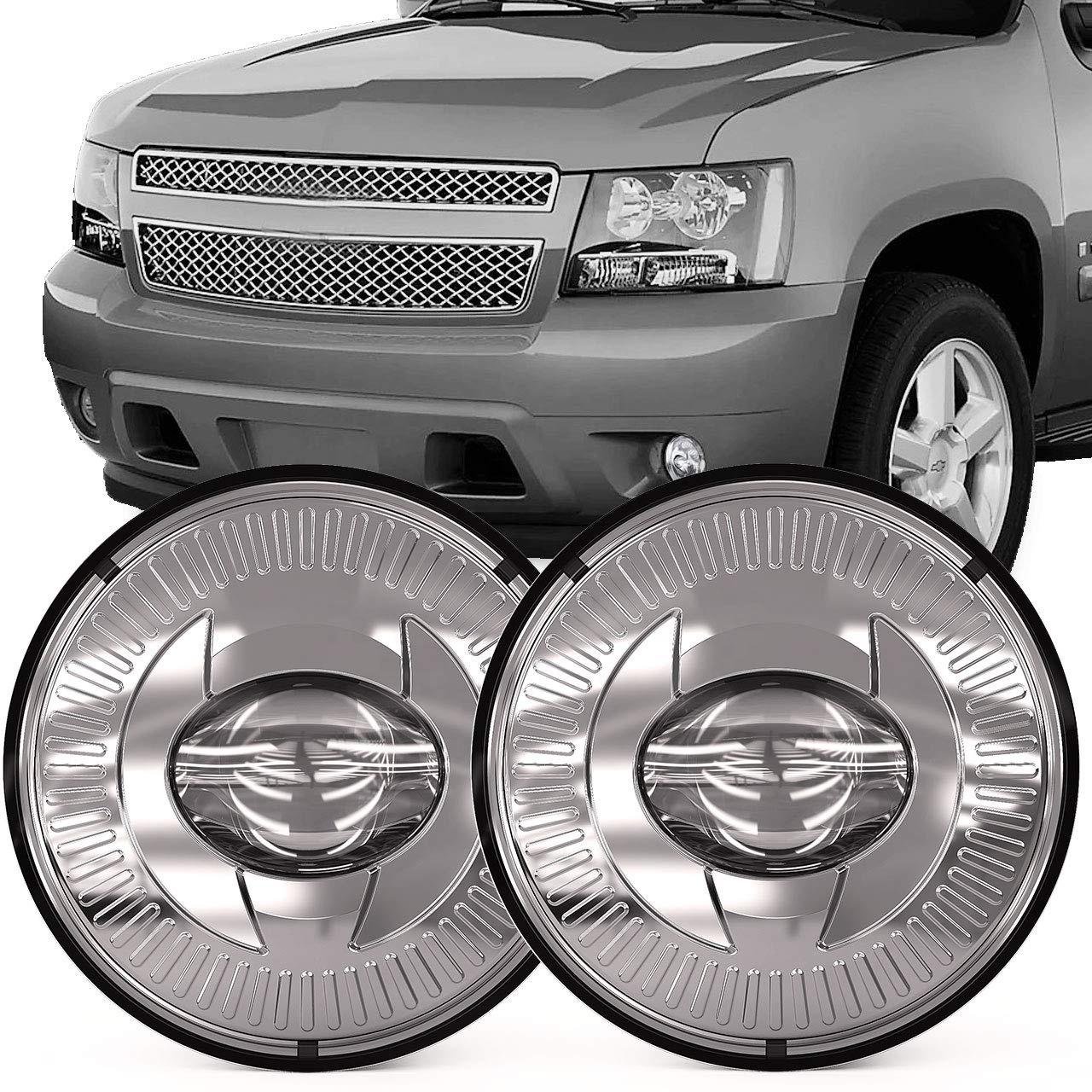 Lensa Bumper Mengemudi Lampu 12V LED Lampu Kabut untuk Chevy Chevrolet