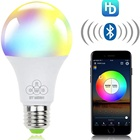 New product 4.5W LED Bulb Speaker color changing RGB Smart Music Bulb E27 Remote Control Voice Control