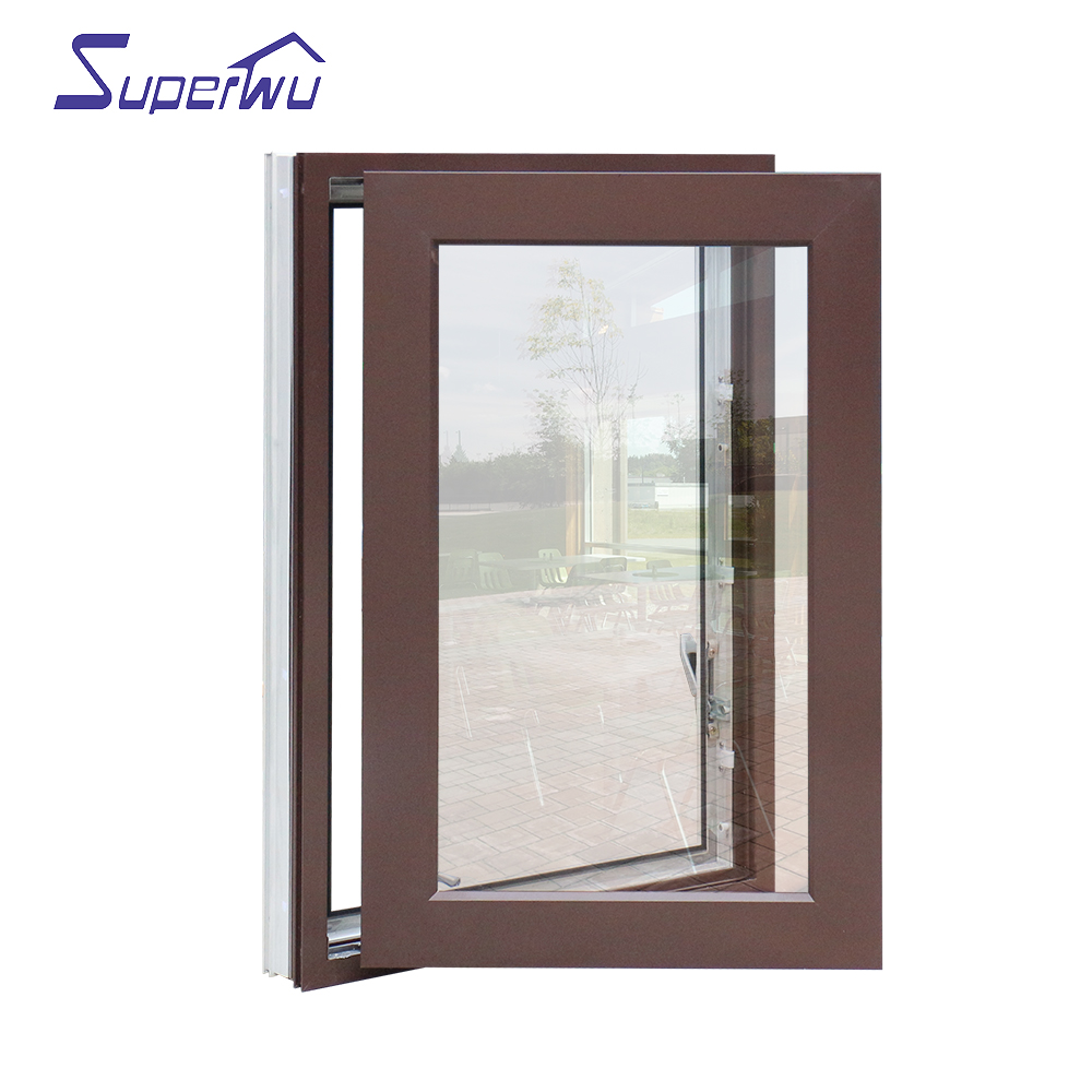 American standard two different colors swing hinge windows high quality casement window top brand Australia standard AS2047