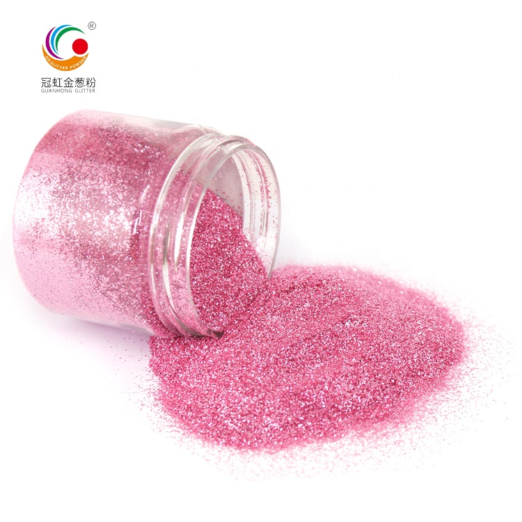 GH2234 Factory Direct Sale Bulk Extra Fine And Thin Colored Flash Hexagonal Glitter Powder For Nail Art Christmas Gifts