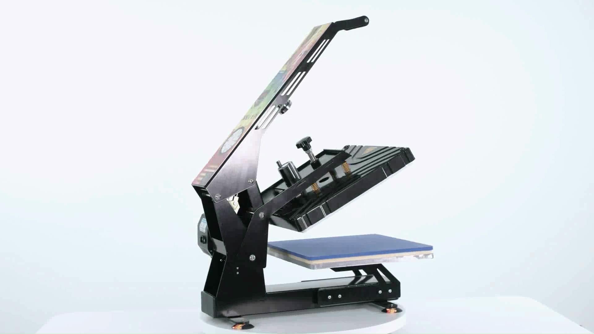 Freesub newest drawer type automatic heat press machine tshirt sublimation machine t shirt printing machine
