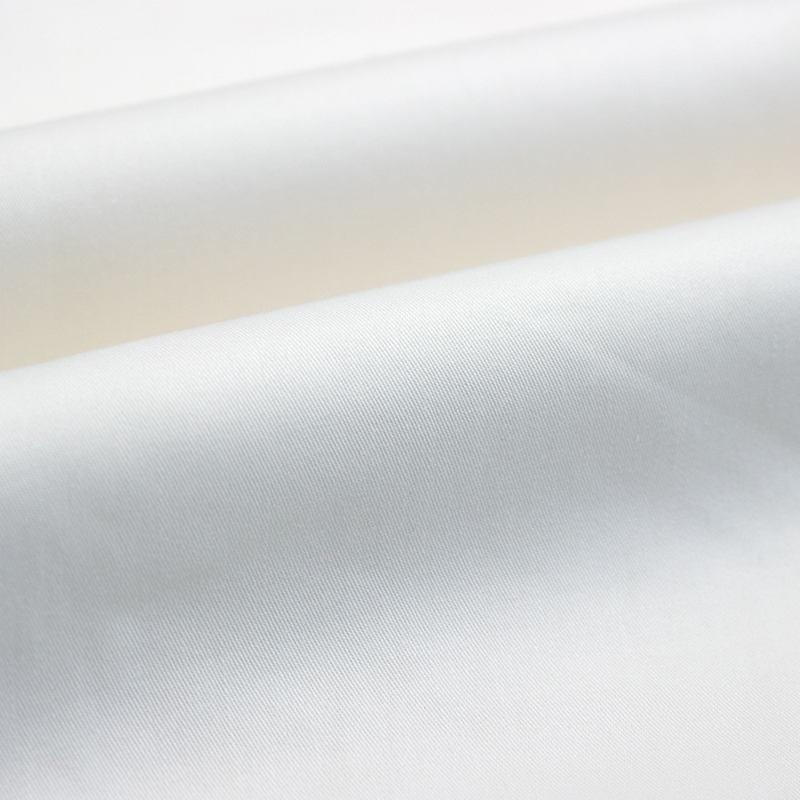 100% Cotton Sateen 350TC Fabric For 3-5 Star Hotel Linen
