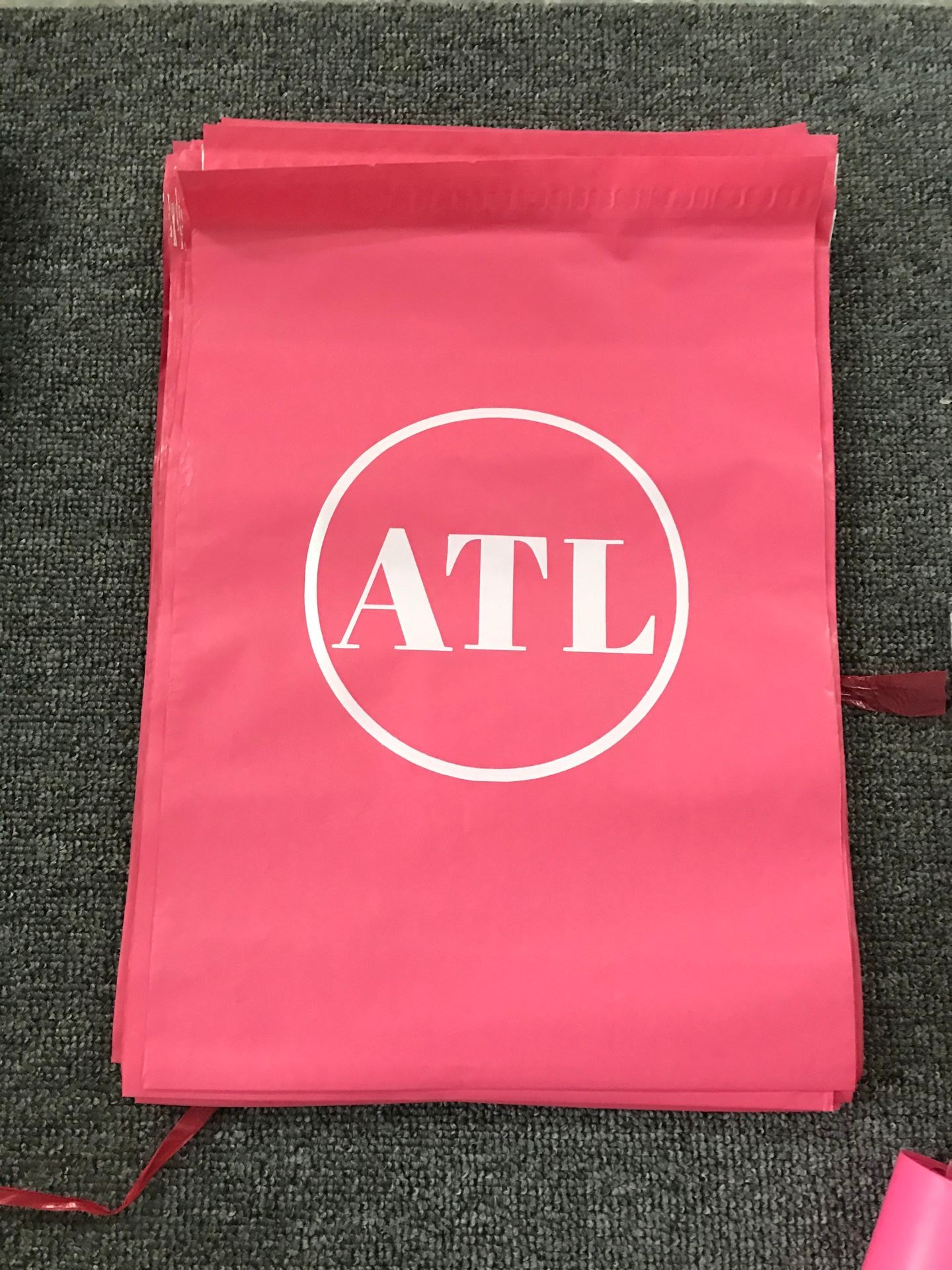 Custom Logo Printed Self Adhesive custom pink poly mailers envelope plastic packaging bags for clothing