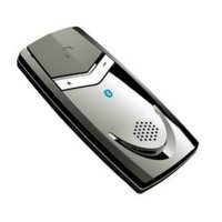 Solar Powered Ultra Slim wireless car Bluetooth speakerphone with Multipoint