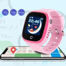 DF31 GPS Enfants Montre Intelligente Android Smartwatch Tactile Intelligente Appelant Bluetooth Montre Intelligente Montres GPS avec Caméra