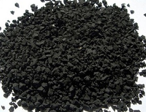 Recycled SBR rubber crumb football artificial grass installation accessories sbr black rubber granules